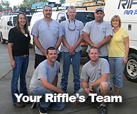 The Riffle's Team - striving for your complete satisfaction